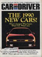 Car and Driver Vol. 35 No. 4 Magazine