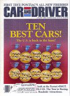 Car and Driver Vol. 38 No. 7 Magazine