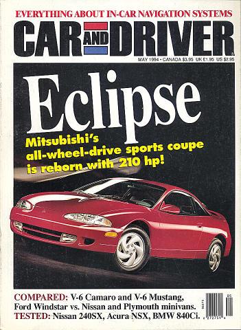 Car and Driver Vol. 39 No. 11 Magazine