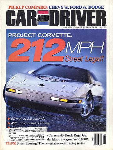 Car and Driver Vol. 41 No. 12 Magazine