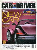Car and Driver Vol. 42 No. 4 Magazine