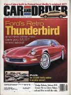 Car & Driver Vol. 43 No. 12 Magazine