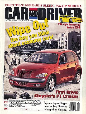 Car and Driver Vol. 45 No. 1 Magazine