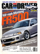 Car and Driver Vol. 45 No. 8 Magazine