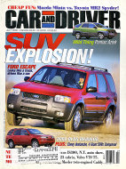 Car and Driver Vol. 46 No. 1 Magazine