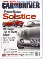 Car and Driver Vol. 47 No. 10 Magazine