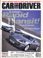 Car and Driver Vol. 47 No. 5 Magazine