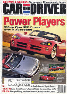 Car and Driver Vol. 48 No. 5 Magazine