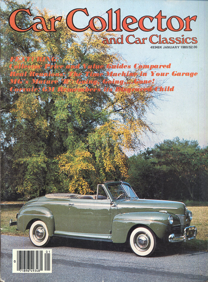 Car Collector and Car Classics Vol. III No. 1 Magazine, Jan 1, 1980 ...