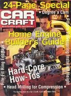 Car Craft Home Engine Builder's Guide Magazine