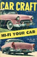 Car Craft Magazine December 1955 Magazine