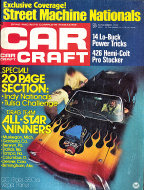 Car Craft Magazine November 1972 Magazine