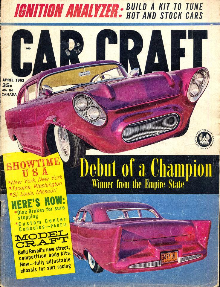 Car Craft Vol. 10 No. 12 Magazine, Apr 1, 1963 at Wolfgang\'s