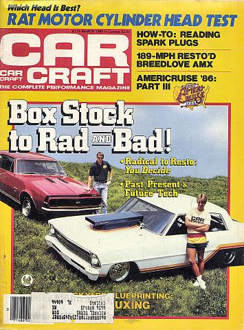 Car Craft Vol. 34 No. 3 Magazine