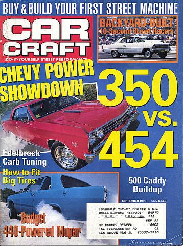 Car Craft Vol. 47 No. 9 Magazine