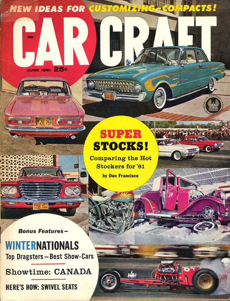 Car Craft Vol 9 No 2 Magazine Jun 1 1961 At Wolfgang S