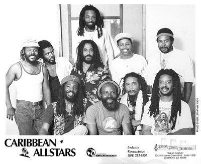 Caribbean Allstars Promo Print