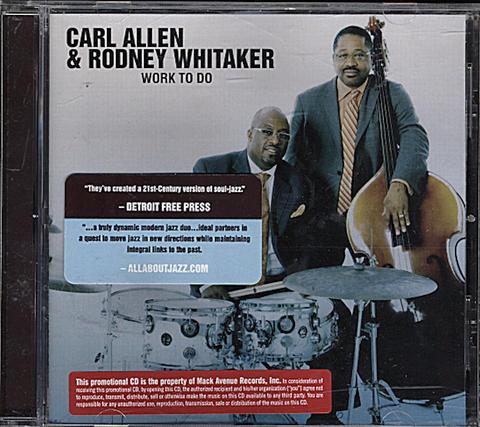 Carl Allen CD