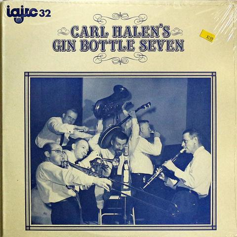 "Carl Halen's Gin Bottle Seven Vinyl 12"" (New)"