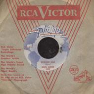 "Carl Mann Vinyl 7"" (Used)"
