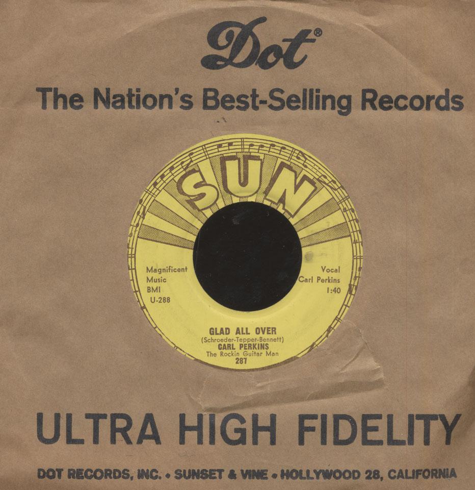 """Carl Perkins Vinyl 7"""" (Used)"""