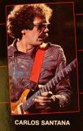 Carlos Santana Postcard