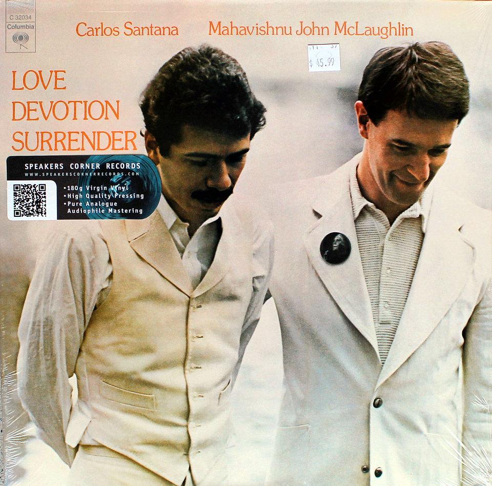 """Carlos Santana Vinyl 12"""" (New)"""