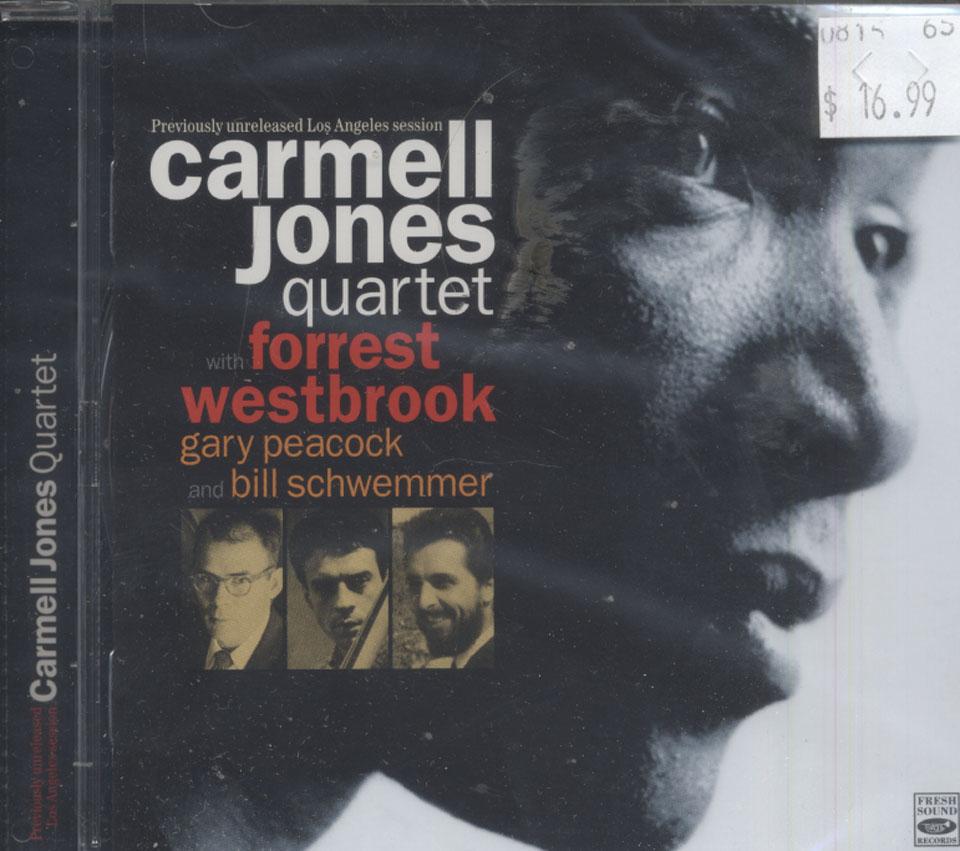 Carmell Jones Quartet CD