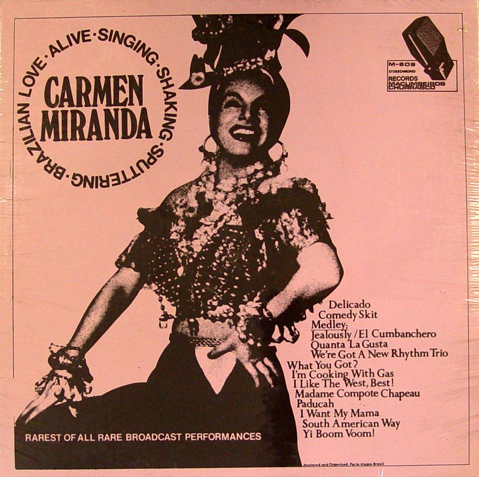 "Carmen Miranda Vinyl 12"" (New)"