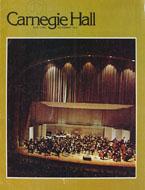 Carnegie Hall Jazz Band Program