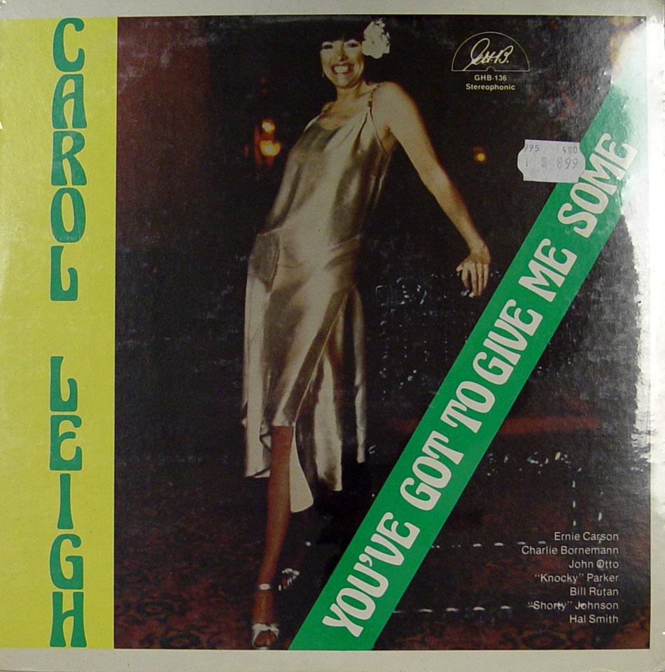 "Carol Leigh Vinyl 12"" (New)"