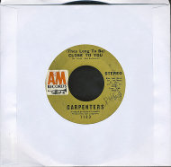 "Carpenters Vinyl 7"" (Used)"