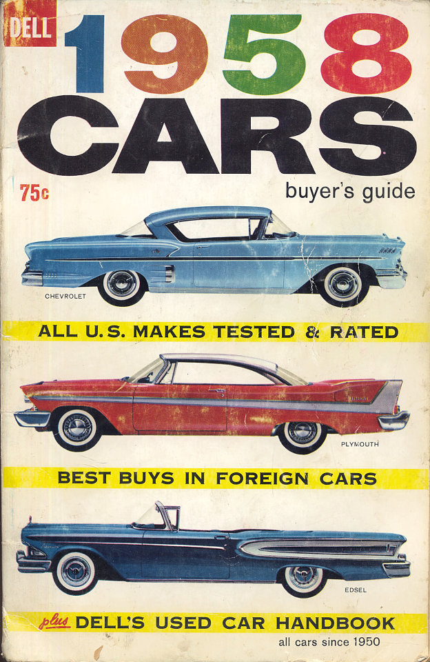 Cars: 1958 Buyer\'s Guide Magazine, 1958 at Wolfgang\'s