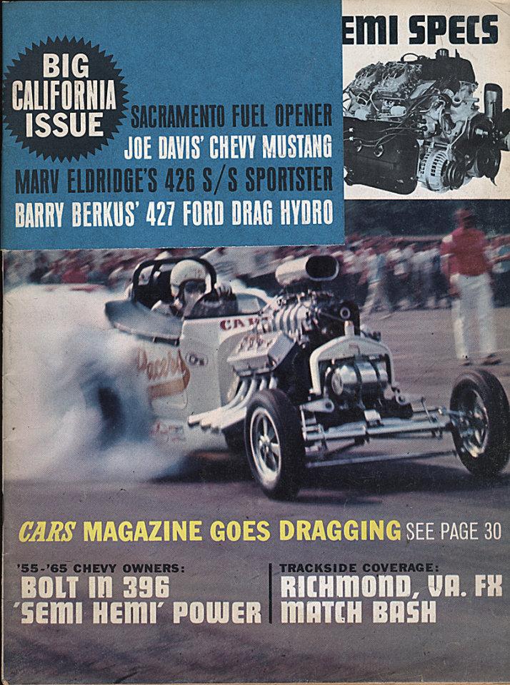 Cars Magazine Vol. 8 No. 10 Magazine, Oct 1, 1965 at Wolfgang\'s