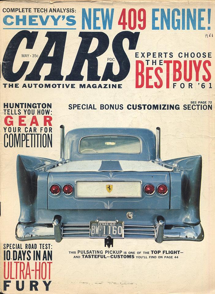 Cars Vol. 3 No. 2 Magazine, May 1, 1961 at Wolfgang\'s
