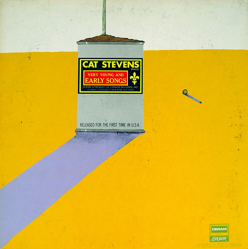 """Cat Stevens Very Young And Early Songs Vinyl 12"""" (Used)"""