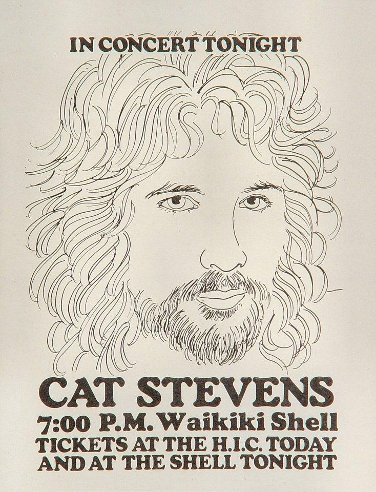 Cat Stevens Handbill