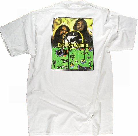 Cecilio and Kapono Men's Vintage T-Shirt reverse side