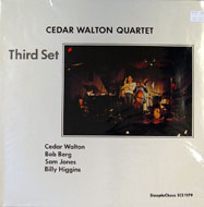 "Cedar Walton Quartet Vinyl 12"" (New)"
