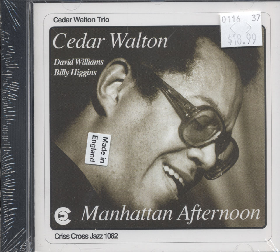 Cedar Walton Trio CD