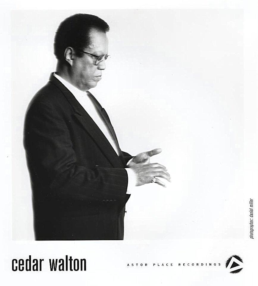 Cedar Walton Promo Print