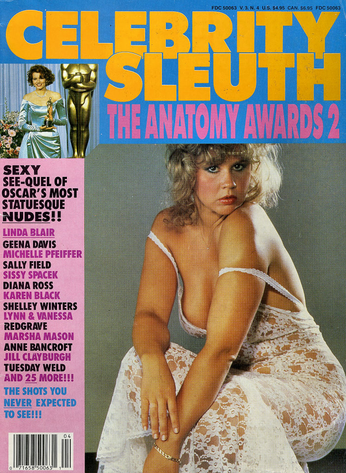 Celebrity Sleuth Vol. 3 No. 4 Magazine, 1990 at Wolfgang\'s