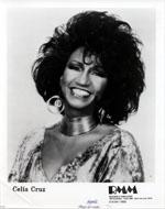 Celia Cruz Promo Print