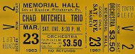 Chad Mitchell Trio Vintage Ticket