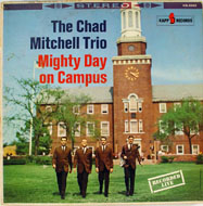 "Chad Mitchell Trio Vinyl 12"" (Used)"