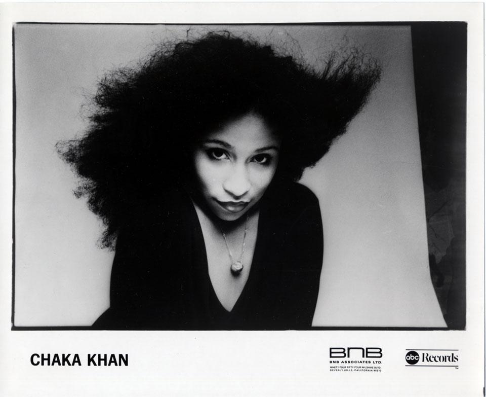 Chaka Khan Promo Print