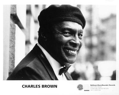 Charles Brown Promo Print