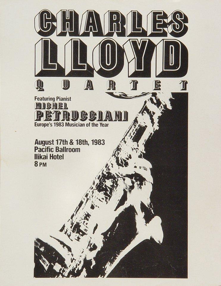 Charles Lloyd Quartet Handbill