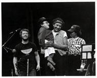 Charles Lloyd Quartet Vintage Print