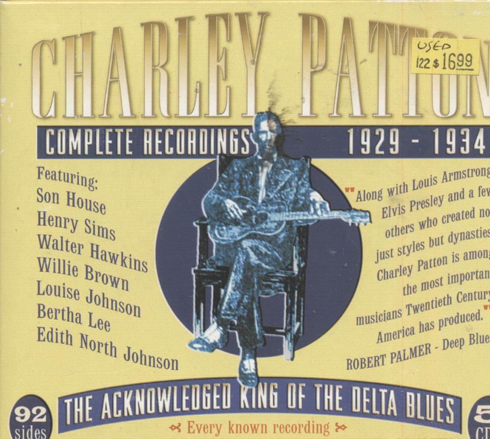 Charley Patton CD